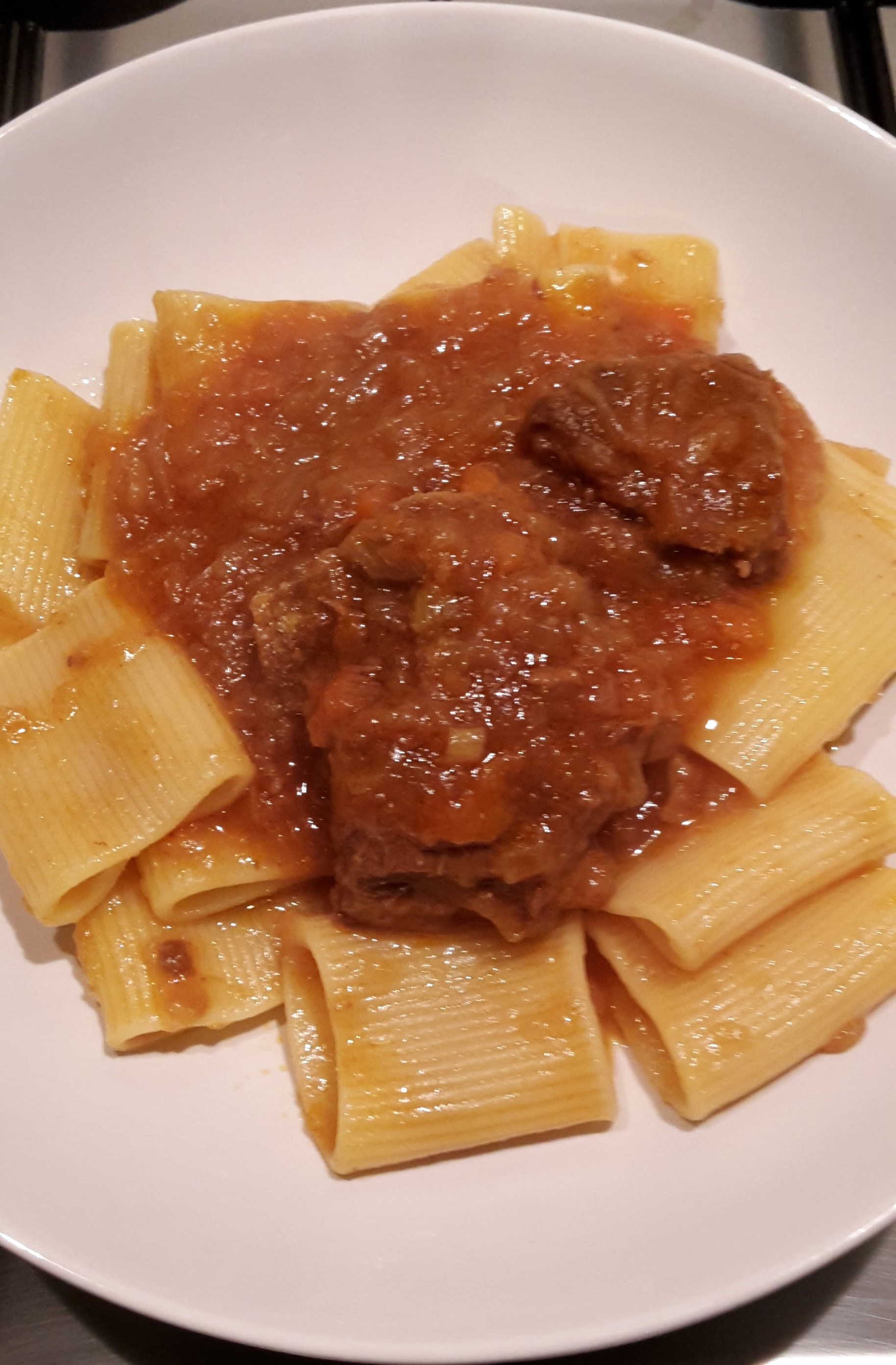 Paccheri alla genovese food makers for Aragonese cuisine