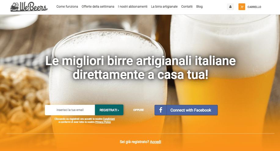 DIGITAL MAGICS LANCIA WEBEERS: IL PRIMO E-COMMERCE PER LA VENDITA DELLE MIGLIORI BIRRE ARTIGIANALI ITALIANE