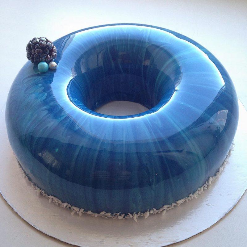 Mirror Marble Cakes : le torte ipnotiche di Olga