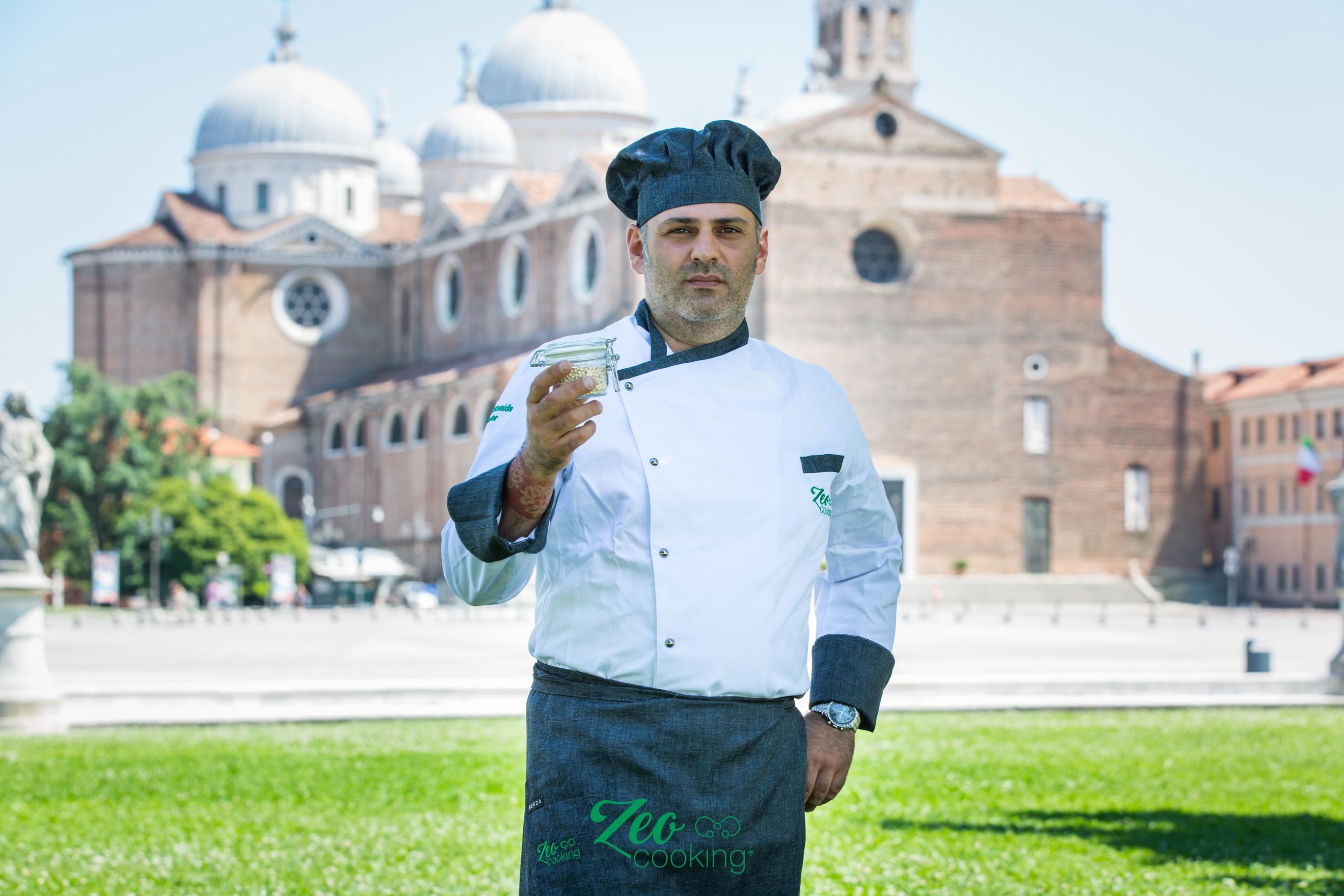 Intervista a Paolo Caratossidis , inventore della rivoluzionaria tecnica per cucinare con la zeolite