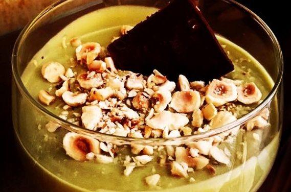 Ricetta del dessert all'avocado