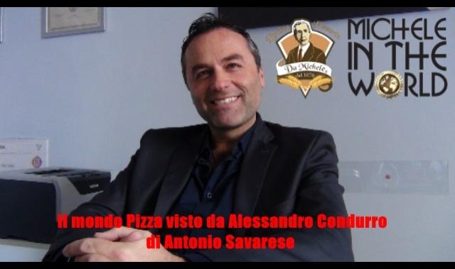 Antica Pizzeria da Michele in the World – Intervista ad Alessandro Condurro