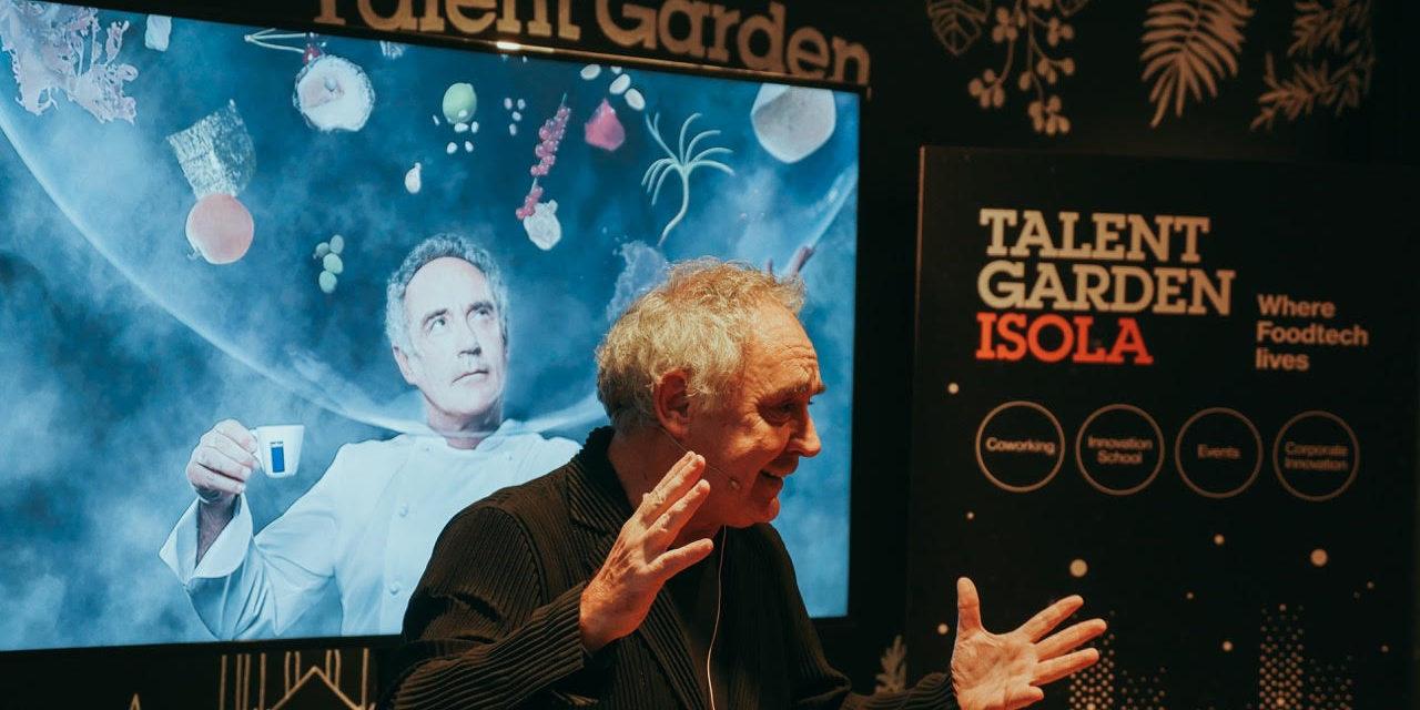 Ferran Adrià, Food Innovation, ripensare al cibo