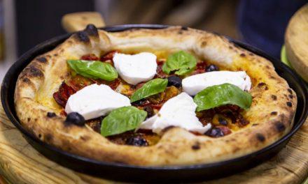 Ringhio Star la pizza  in onore di Rino Gattuso