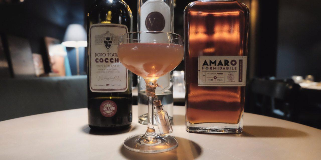 """DRINK""""AMORE FORMIDABILE"""" di Roberta MArtino"""
