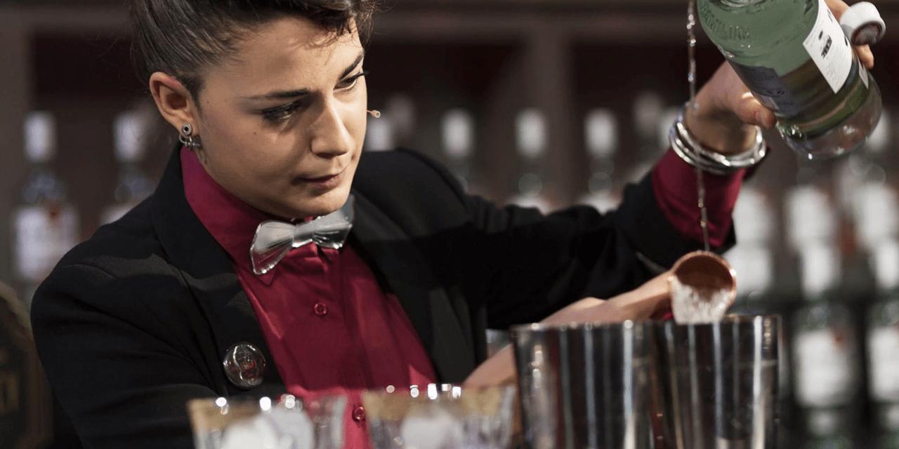 Carola Abrate la bartender de la Drogheria di Torino