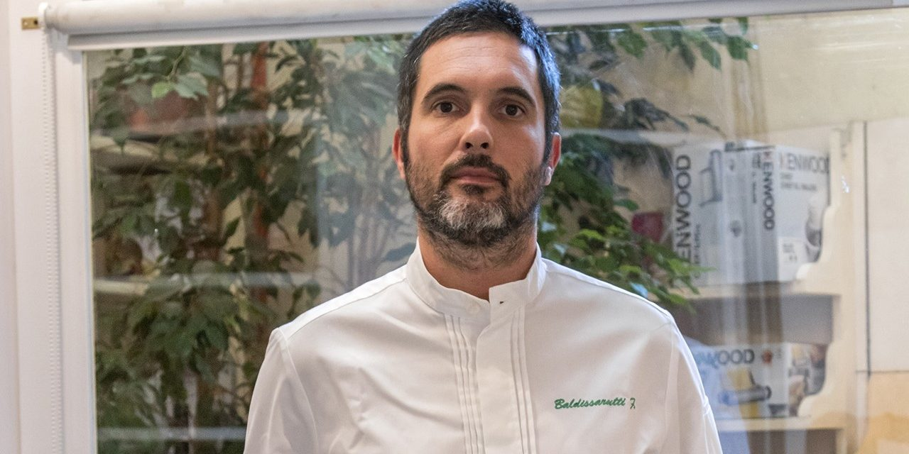 Francesco Baldissarutti – lo spiedo al centro della sua cucina