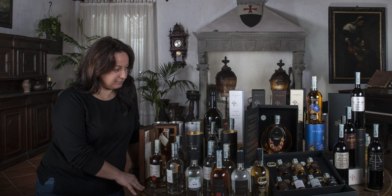 """Priscilla Occhipinti, la """"Signora delle Grappe"""" ci racconta il segreto di Nannoni Grappe"""