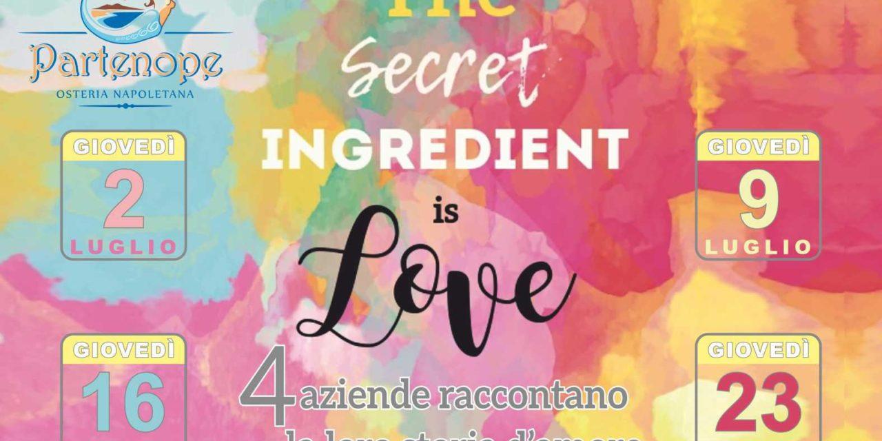 Osteria Partenope,l'amore è l'ingrediente segreto
