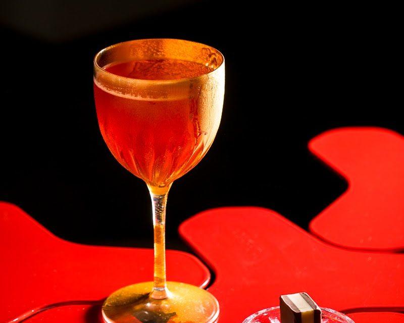 drink cinema RED URGE ispirato ad American Beauty, di Martina Proietti, assistant bar manager del The Court di Roma