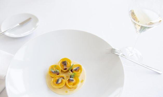 Ravioli all'uovo, alici e lupini by Roberto Stefani