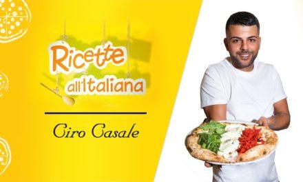"""Ciro Casale – Dall'Irpinia a """"Ricette all'Italiana"""""""