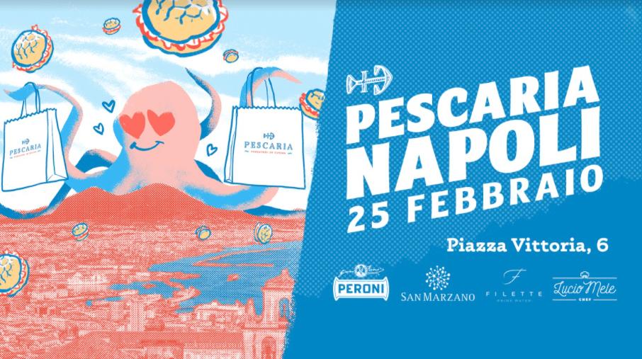 Pescaria arriva a Napoli, APERTURA il 25 febbraio