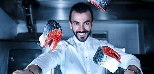 Francesco Arena, chef al BW Maison B Hotel Rimini
