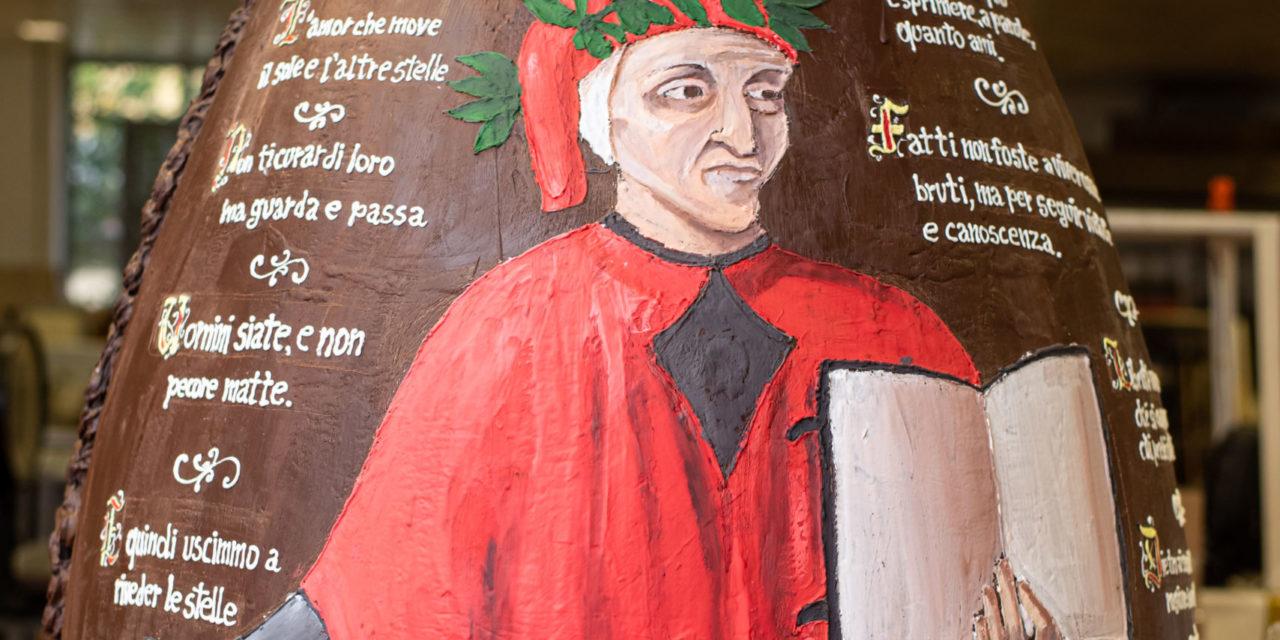 Gay-Odin omaggia Dante Alighieri a Pasqua