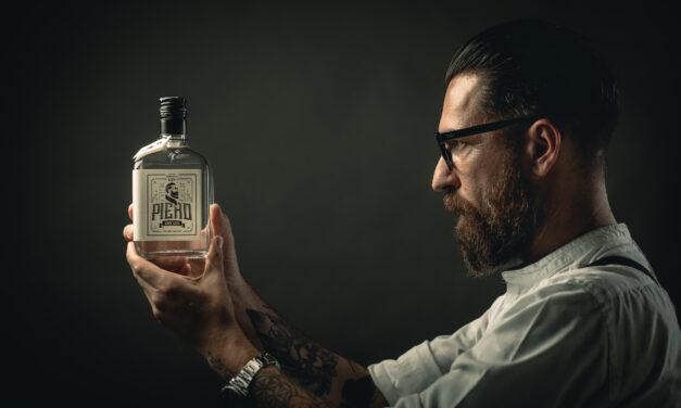 Gianpiero Giuliano e il suo Piero Dry Gin