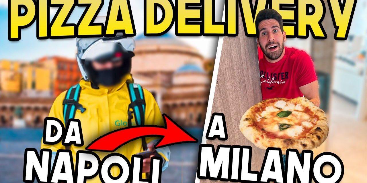 DA NAPOLI A MILANO IL SUPERDELIVERY DELLE PIZZE