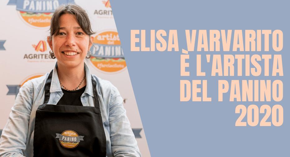 È ELISA VARVARITO L'ARTISTA DEL PANINO 2020
