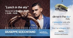 Innovative 'a Figlia d' 'o Marenaro a Dinner in The Sky NAPOLI