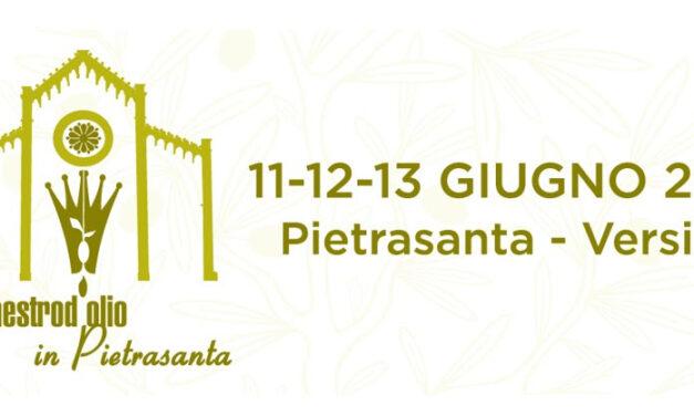 Maestro d'olio in Pietrasanta: la città del marmo per tre giorni capitale dell'olio extravergine di qualità