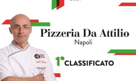 Da  Attilio alla Pignasecca vince il premio Best AVPN Pizzeria 2021