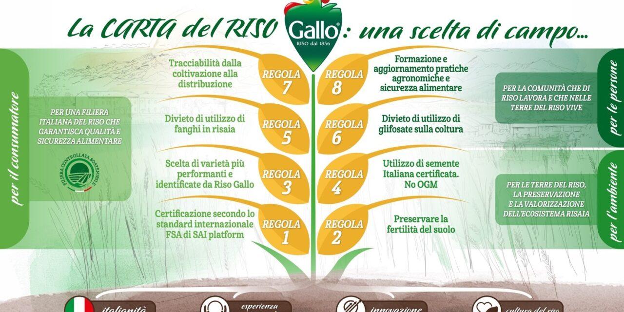 """RISO GALLO: NASCE LA """"CARTA DEL RISO"""""""