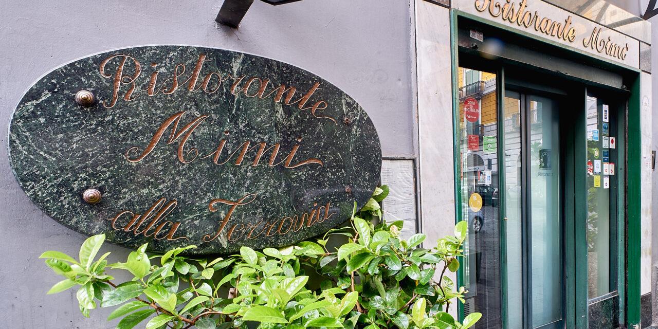 Mimì alla Ferrovia, storia della cucina a Napoli