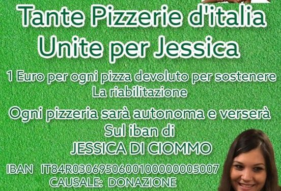 PIZZAIOLI UNITI Sabato 31 luglio, per la raccolta fondi, Un sorriso per Jessica