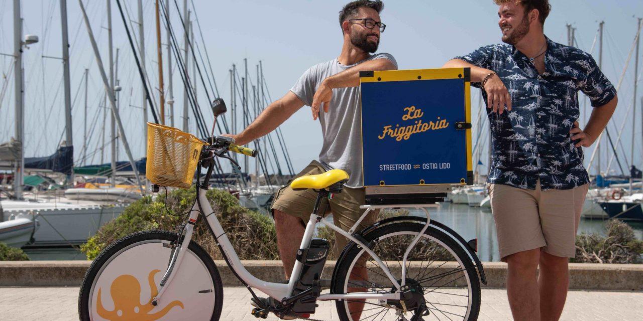Ad Ostia IN ESTATE ARRIVA LA FRIGGITORIA DELIVERY ON THE BEACH
